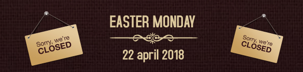 Easter Monday - closed