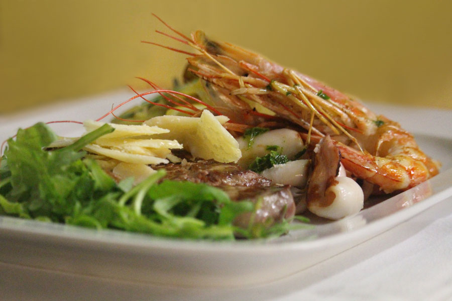 italian Surf & Turf at Al Borgo
